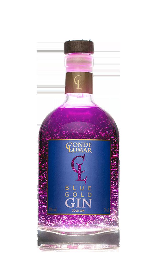 Condes de Lumar Blue Gold Gin